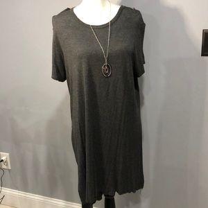 Long split T-Shirt